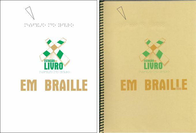 Capa em Braille