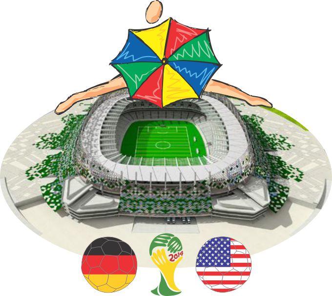 Arena Peranmbuco - Alemanha x Estados Unidos