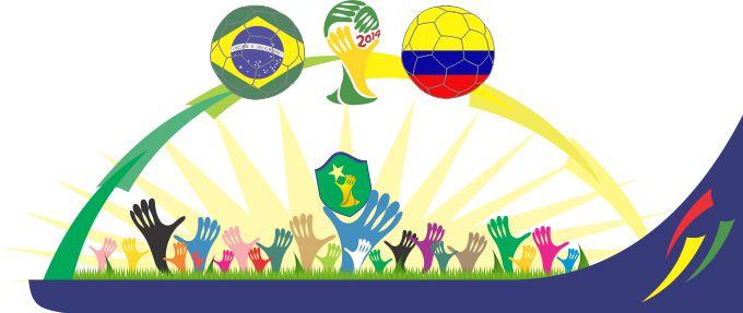Torcida RP-Brasil x Colômbia