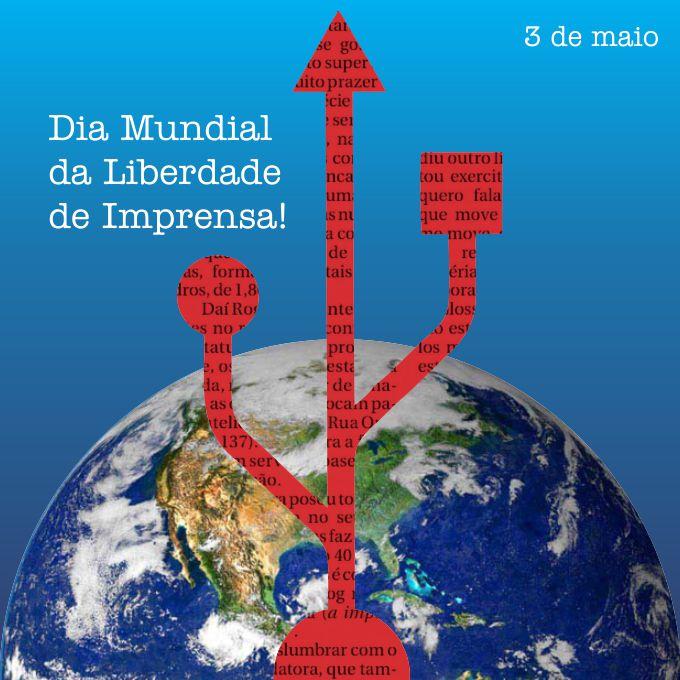 Dia Mundial da Liberdade de Imprensa - corpo RP