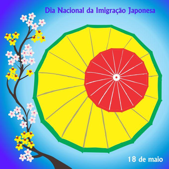 Dia da Imigração Japonesa - corpo RP