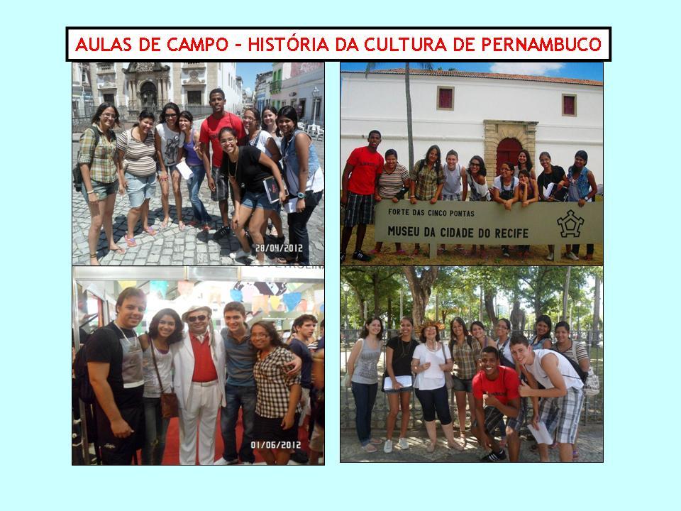 Aulas de Campo Historia da Cultura de PE