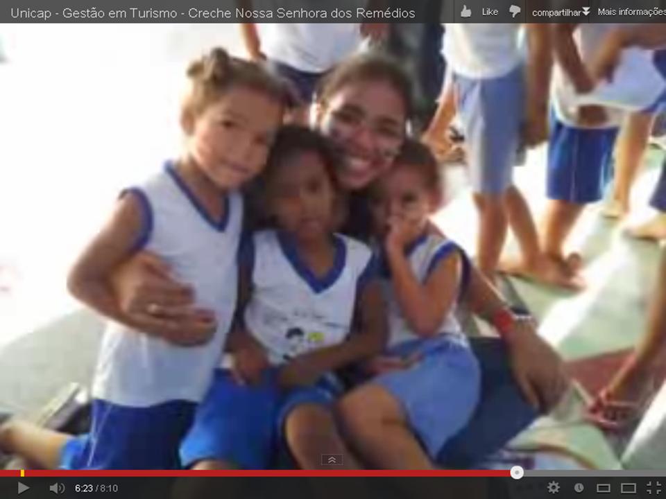 alunos em aula pratica de Lazer_Rafinha com criancas nov 2012