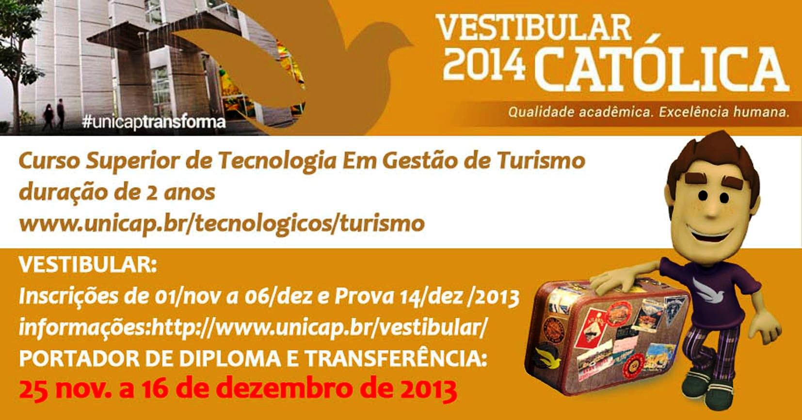 vestibular 2014 portador 1TURISMO