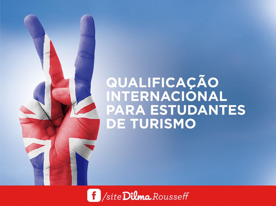Qualificação para estudantes de turismo