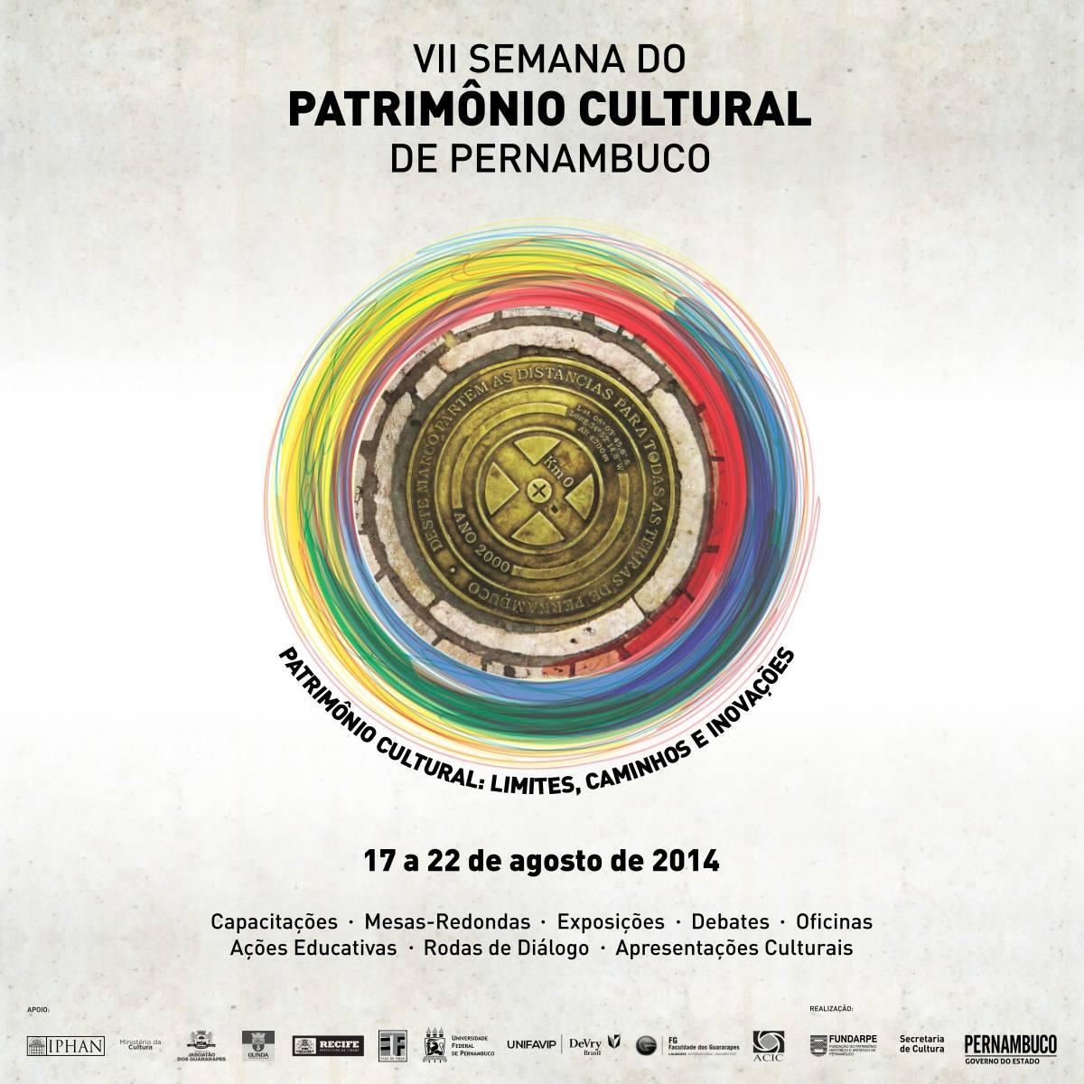 VII Semana do Patrimônio Cultural_17 a 22 agosto 2014