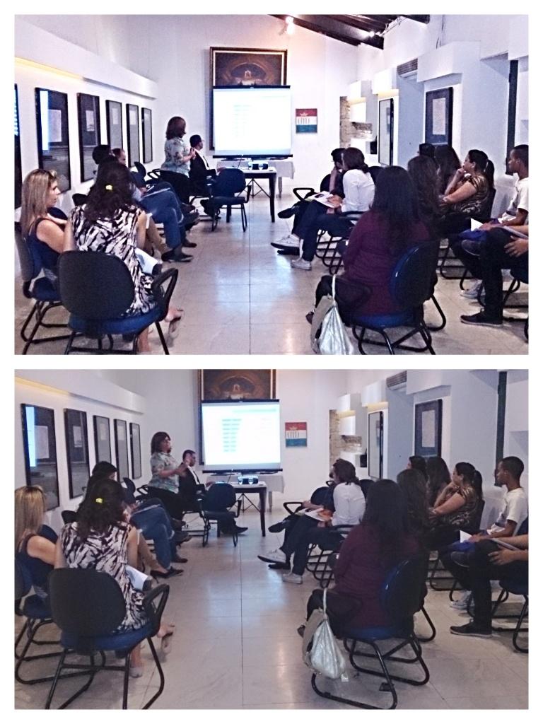 coordenadores durante apresentação Setur Recife