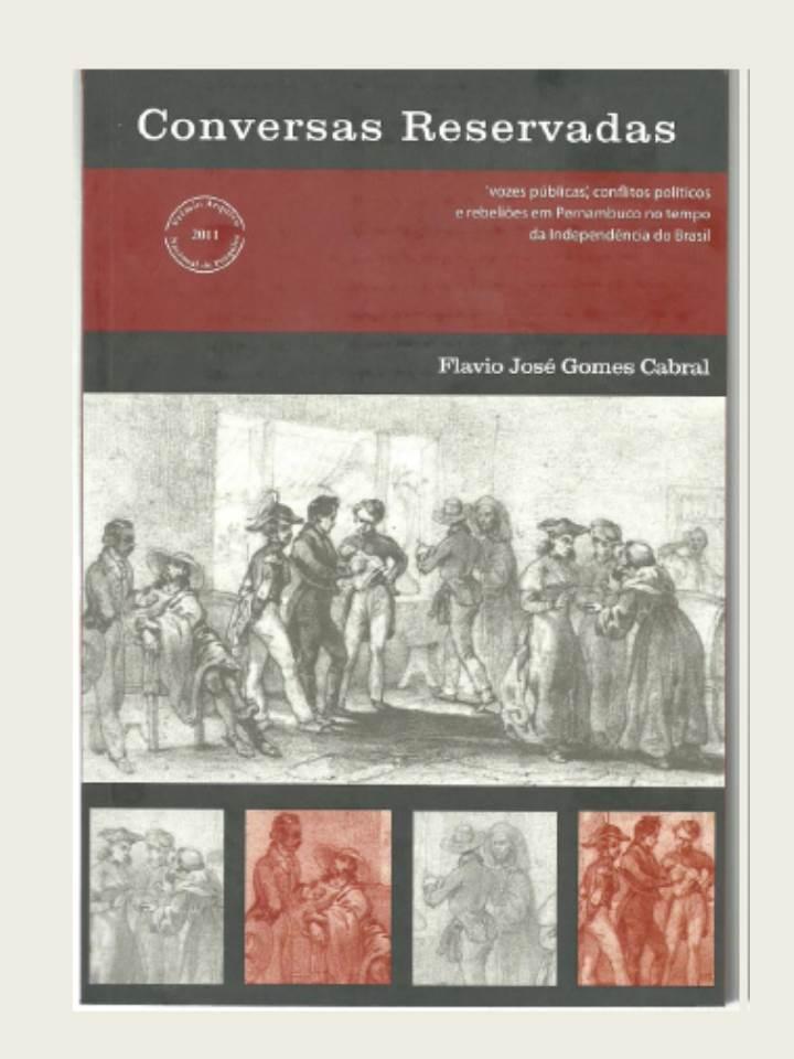 Lançamento livro Conversas Reservadas_Professor Historiador Flavio Cabral_nov2014