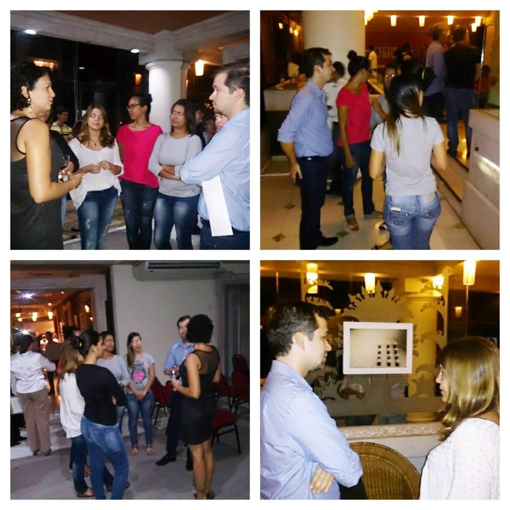 Exposição Prazer em Receber Hotel Dorisol_Piedade_Professor Ciro com Aunos_Aula de Marketing Promocional