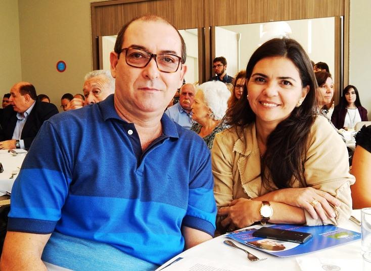 ROTA 101 Nordeste_Cafe da manha de lançamento 26junho2015_Rosilei e Alfredo