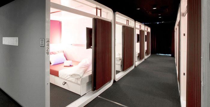 hotel-capsula  para mulheres no Japao
